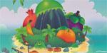 Juicy  Fruits (Deep Print)